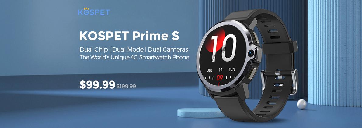 Gearbest Kospet Prime S promotion